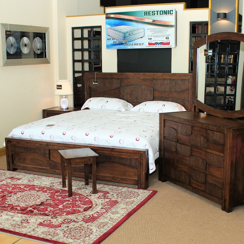 Naples Bedroom Set (1.8m, No Wardrobe) Tshs 6,690,000