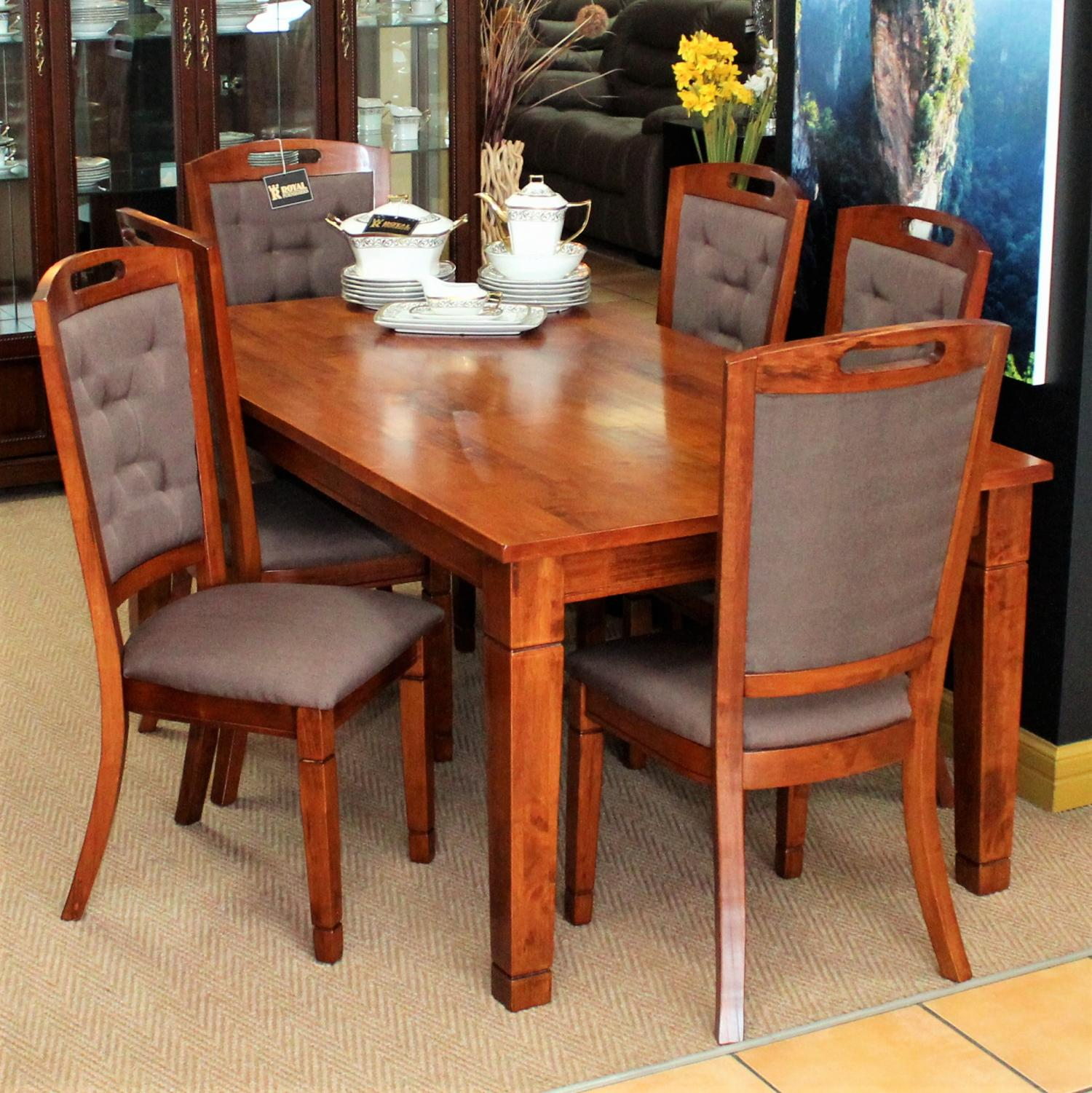 Dining royal furnishers for Dining table latest model